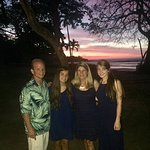 Our family at Sunset after my nephews wedding at Capitan Suizo