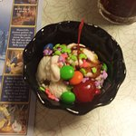 Kid's ice cream sundae