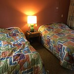 Cabins are in good shape and relatively modern.  Two twin beds functional kitchen.   Some have s