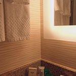 Bath amenities in Room 916