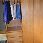 Excellent closet and drawer space.