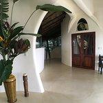 Hotel open area. No straight walls -