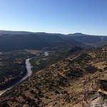 Rio Grande and Frijoles Canyon