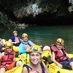 Cave Tubing with Vitalino Reyes Foto