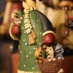 Full of ornaments - lots of specialty items for collectors