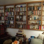 Great collection of books and clocks