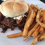 Espresso BBQ Pulled Pork Sandwich