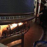 Fireside seats... lovely.  Sat in the bar.   Quickly forgotten.   Seems staff all that someone e