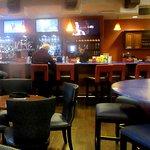 Bar Area and TVs, Crush Ultra Lounge, Meritage, Napa, CA