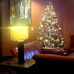 Christmas Tree, Crush Ultra Lounge, Meritgae, Napa, CA