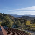 A private tour will get you this view; the tasting room won't.