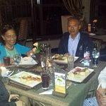 Cena con compañeras de la Cooperación Española