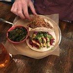 Various taco creations