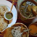 Chicken Pepian and Pupusas