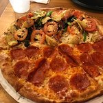 Pizza, cheesesticks environment