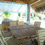 My lan restaurant on the beach