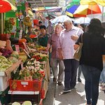 Shopping for the best ingredient for my dishes at a local wet market!