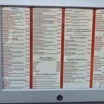 Rimjhim extensive menu