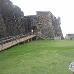 Entrance to Castillo de San Cristobal