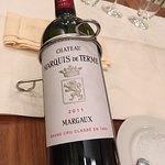 2010er Château margaux, knoblauchcreme mit Ei, rehgulasch, Creme brûlée - nicht günstig aber seh
