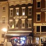 Mcgeary's facade at night