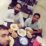 enjoy lunch at Qatar