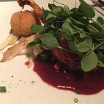 Duck with berry sauce