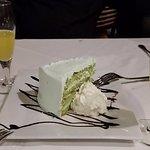 Pistachio Cream Layer Cake & Lemonciello!! Just lovely!!