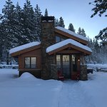 our cabin we stayed in