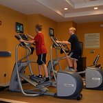 Exercise Room--treadmill, bike, 2 elliptical, free weights & a SCALE!