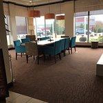Quiet room off the lobby