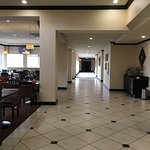 Breakfast (lunch and dinner) area off the lobby--Great food, nice prices.