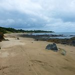 Bull beach in low season