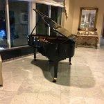 La Primavera - grand piano in lobby