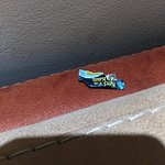 On last day of my family's departure, we found smaller candy wrapper under the couch pillow and