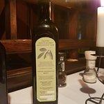 Homemade extra virgine olive oil