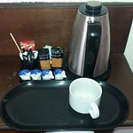 Adequate tea and coffee facilities.