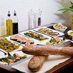 Eine Auswahl an Antipasti / italienischen Vorspeisen im La Vita Paderborn