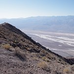 Looking south down Death Valley south of Badwater
