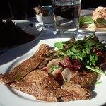Ham and Swiss Crepe