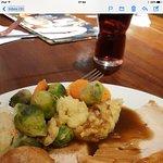 Turkey and fresh veg