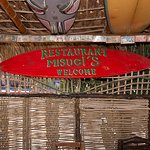 Miguel's restaurant in the town of Todos Santos. Great chilis relleno