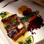 Butterfish with citrus sauce
