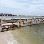 The pier where fishermen's catches are hauled in