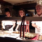 Sunday Carvery Crew, ready to serve.