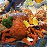 Plateau pour 2 excellent ! Araignée et crabe superbes