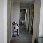 Corridor between bedroom and lounge, bathroom on the right here. Opening windows were appreciate