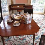 Nathaniel Russell House - Oval Drawing Room - Tea Service