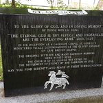 Memorial Stone Outside St. Georges's Church
