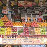 Fruit juice stalls